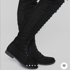 Fashion nova tall talk boots